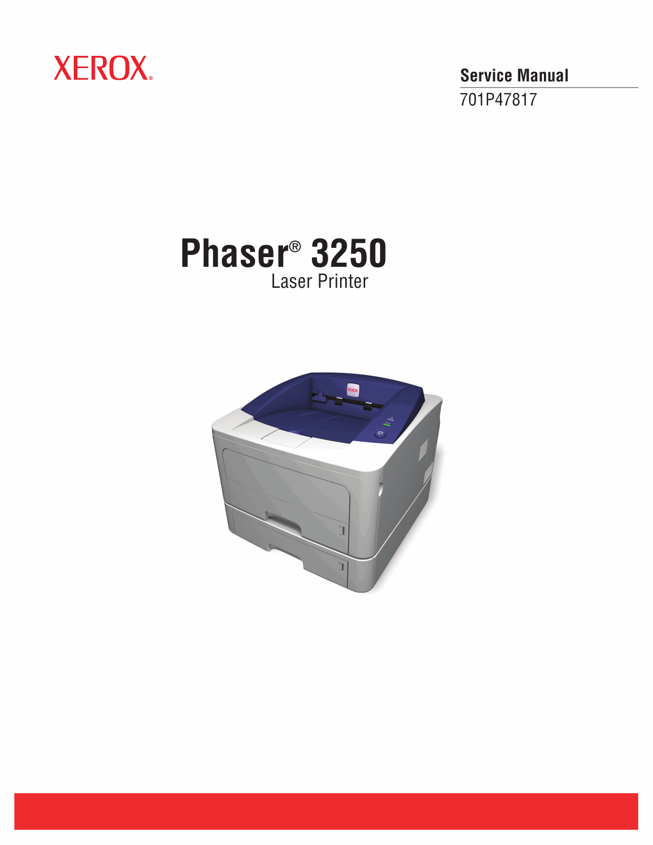 Xerox Phaser 3250 Parts List and Service Manual-1